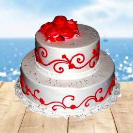 Tower Vanilla Cake