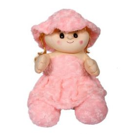 Small Pink Doll Soft Toy (15 inch)