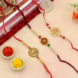 3 Set of OM Rakhi