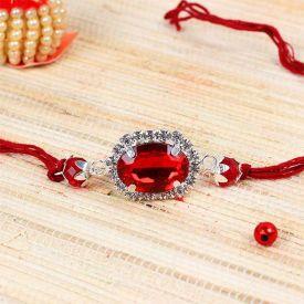 Red Stone Rakhi