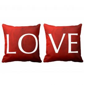 Double Side Love Cushion