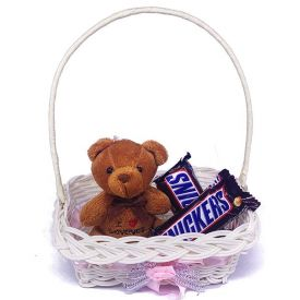 Snicker with Teddy Arrangment