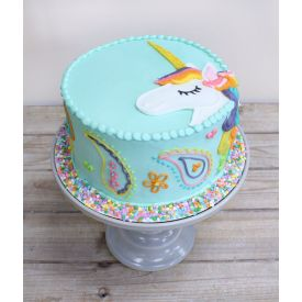 Unicorn Design Cake