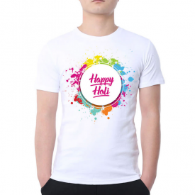 Perosnalized Holi T-Shirt