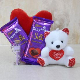 Cadbury Silk N Teddy