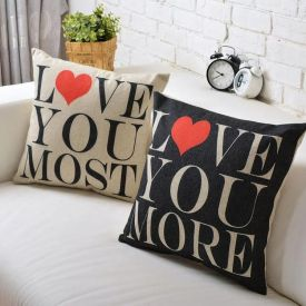 Double Side Love You Cushion