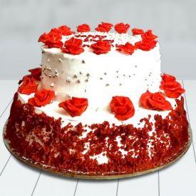 Vanilla Velvet Cake