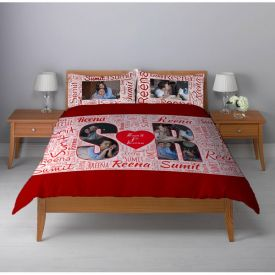 Photo Printed Bed Sheet