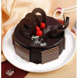 Round Shape Truffle Cake
