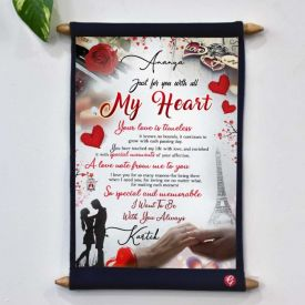Personalized Love scroll