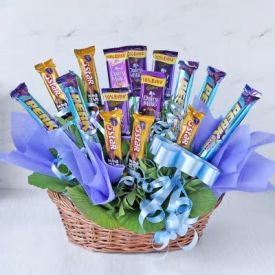 Cadbury Chocolates Basket