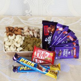 Chocolate with Dry Fruits