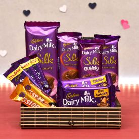 Cadbury Silk With Crackle