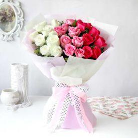 Tri Color Roses