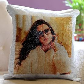 Personalised Magic Sequin Cushion