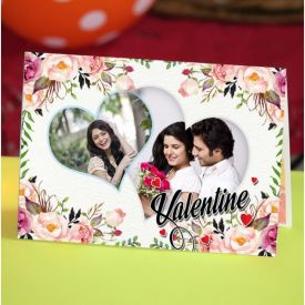 Love personalized greeting card