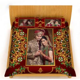 Personalized Couple Bad Sheet