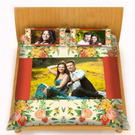 Personalized Photo Bed Sheet