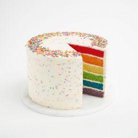 Rainbow Delight cake