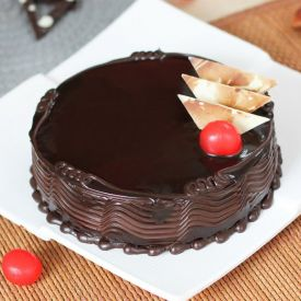 Rich chocolate velvety cake