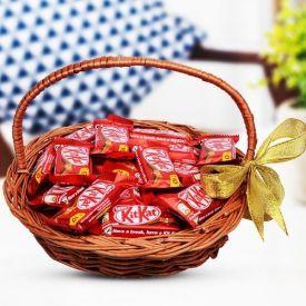 Kitkat In Basket