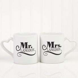 Mr N Mrs Mug Set