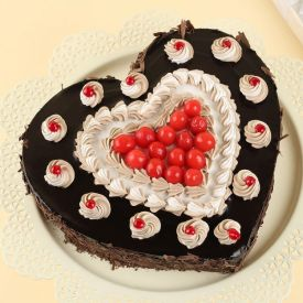 Cherry hearty black forest cake
