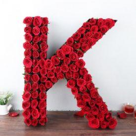 K Alphabet Arrangement