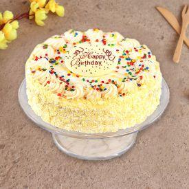 Tempting Butterscotch Cake