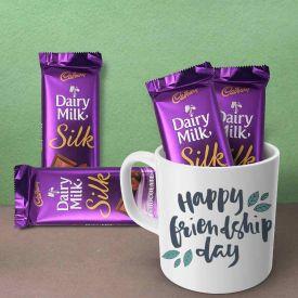 Beautiful Mug with Chocolate