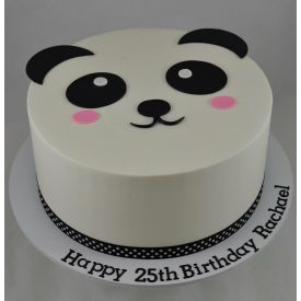 Chocolate Panda Cake