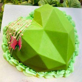 Fruit Special kiwi Pinata Cake