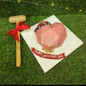 Love Zone Pinata Cake