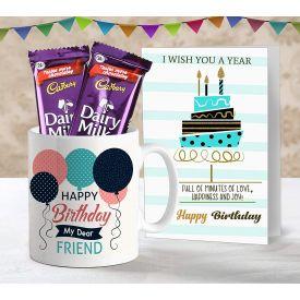Birthday Mug With Greetings