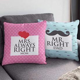 Mr Dad N Mrs Mom Cushion