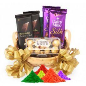 Chocolate Hamper Holi Gifts