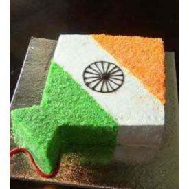 National Tricolor Chocolate Cake