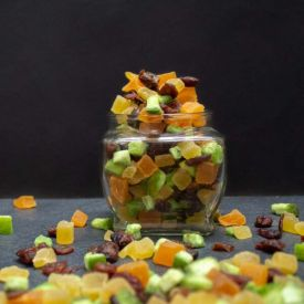 Dehydrated mixed Frozen Fruits