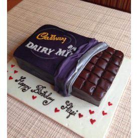 Dairy milk design cake