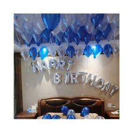 Blue Shine Birthday
