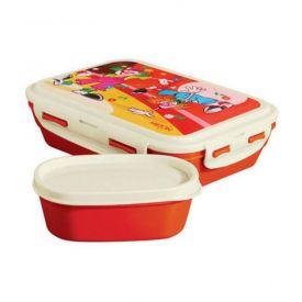 Adorable orange lunch box