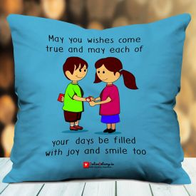 Cushion With Lovely Quote
