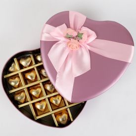 Heart handmade Chocolates