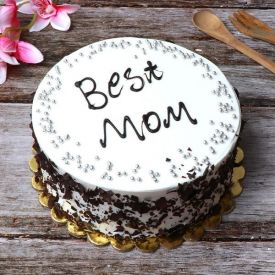 Snowy Black Forest Cake
