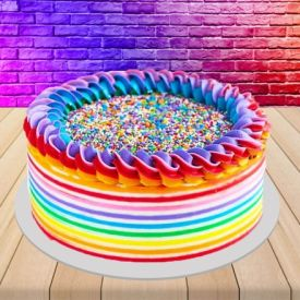 Delicious holi cake