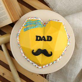 Special Dad birthday Pinata Cake