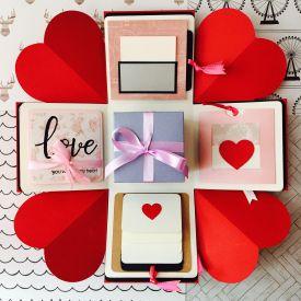 Love Hearts Explosion Box