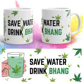 Save Water Holi Mug