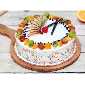 Vanilla Fruity Cake