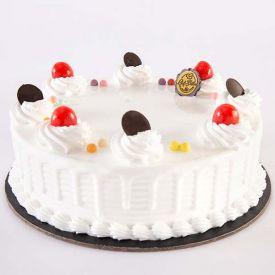 Baked Meal Vanilla Cake